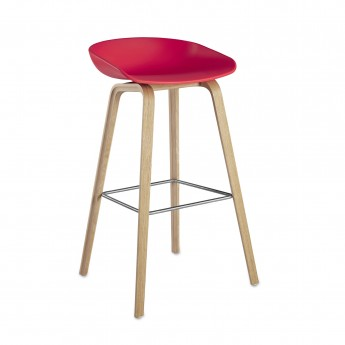 Tabouret ABOUT A STOOL 32 corail