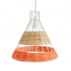 STRAW coral pendant lamp