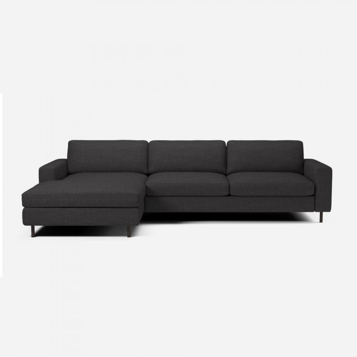 Scandinavia 3 seater sofa with chaise longue bolia for Chaise longue fr