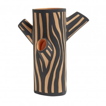 Vase TREE TRUNK M orange