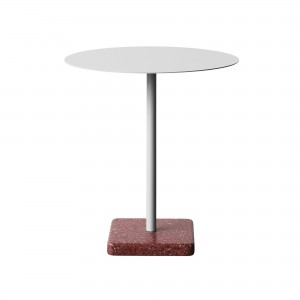 Table TERRAZZO gris clair