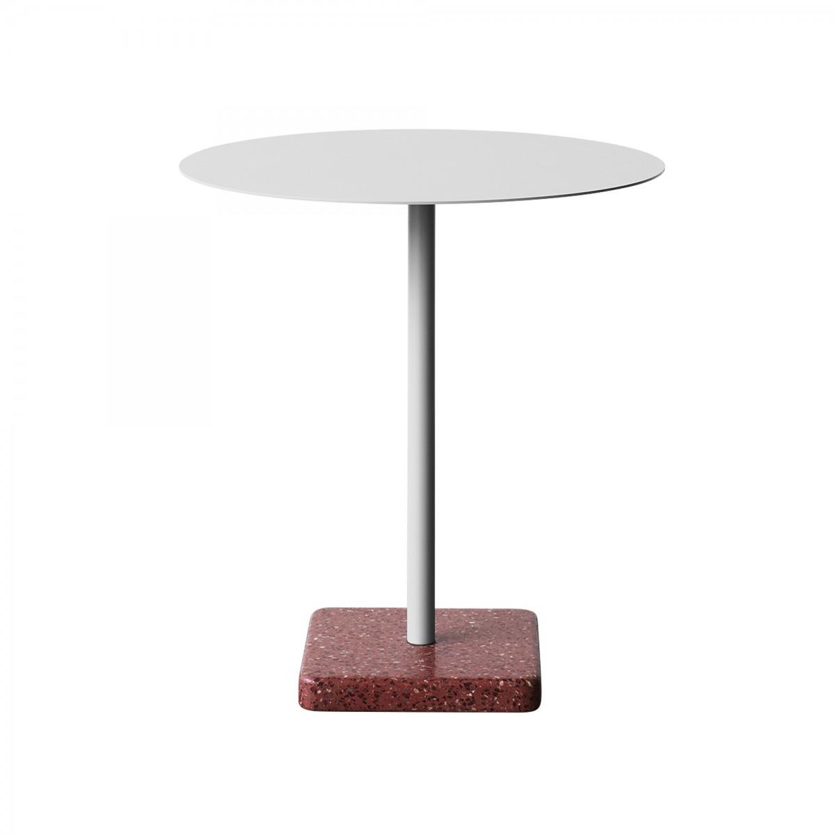table terrazzo gris clair hay. Black Bedroom Furniture Sets. Home Design Ideas
