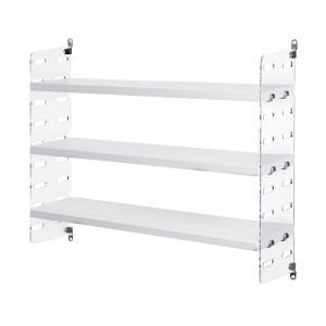 STRING POCKET blanc-plexiglas / STRING