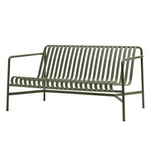 Lounge sofa PALISSADE olive