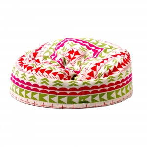 THIS WAY THAT BEEN BAG pouf pink olive