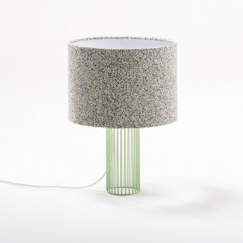 Lampe MAGIC tissu galaxy gris