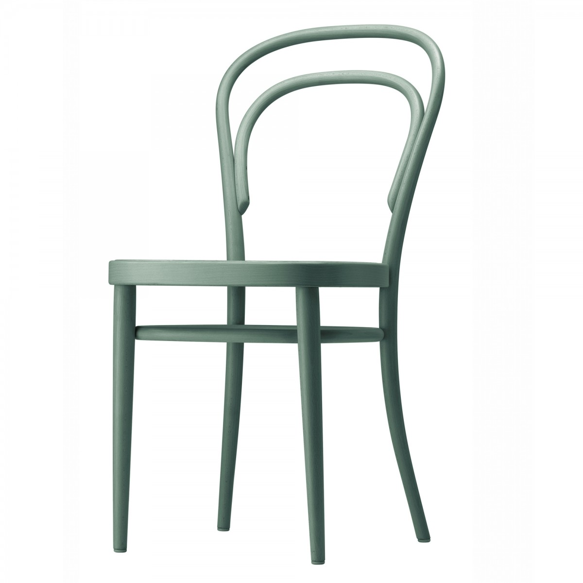 Chaise de bistrot 214 vert thonet for Chaise de bistrot