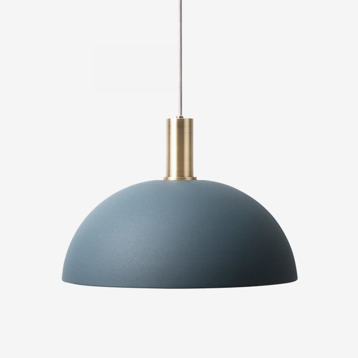 lighting pendant collect pendant dark blue dome