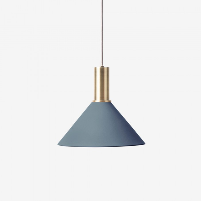 lighting pendant collect pendant dark blue cone