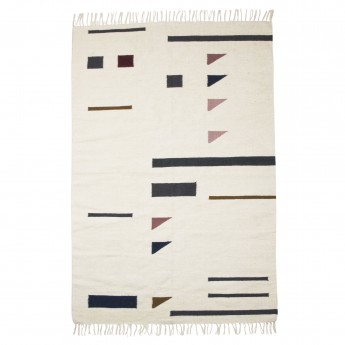Tapis KELIM triangles L