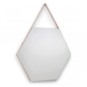 Miroir VORA chêne huilé