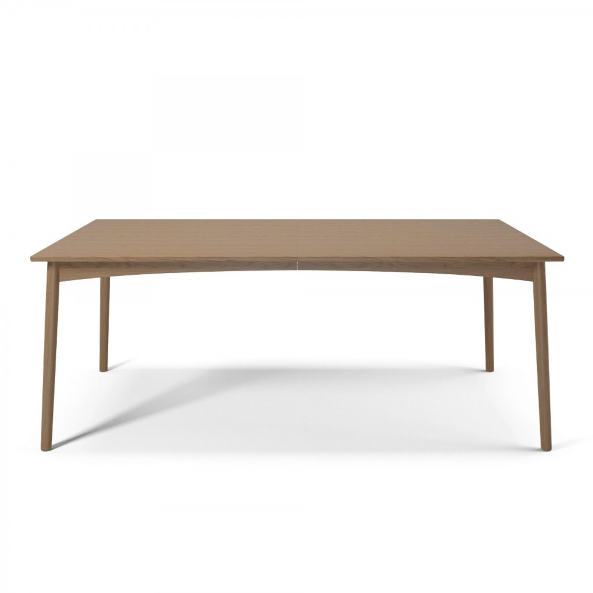 Furniture Tables MEET Dining Table Mat Lacquered Oak