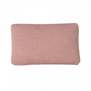 QUILT rose Cushion 40 x 25 cm