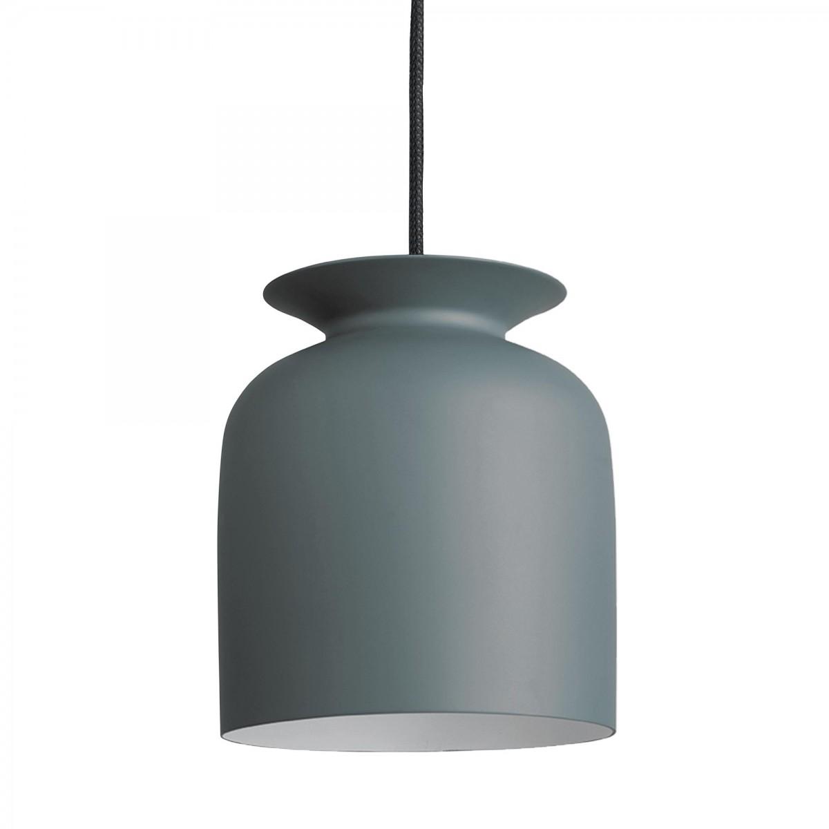 suspension ronde s gris gubi. Black Bedroom Furniture Sets. Home Design Ideas
