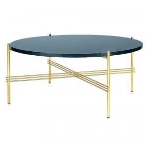 Table TS bleu gris/laiton L