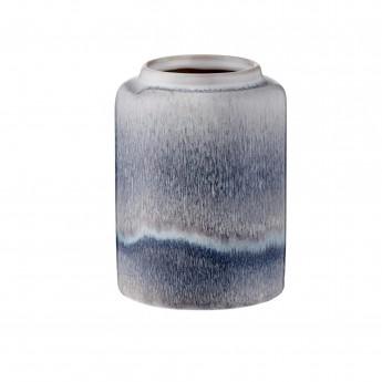 Petit vase Mezzanotte marron/gris