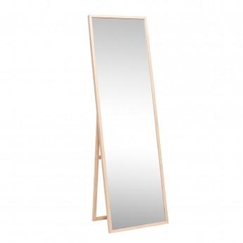 Miroir sur pieds en bois