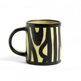 mug WOOD blanc