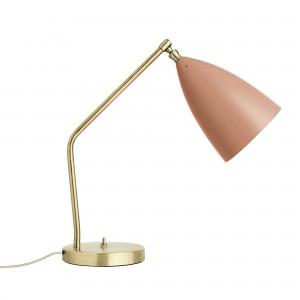Lampe de table GRÄSHOPPA rouge vintage