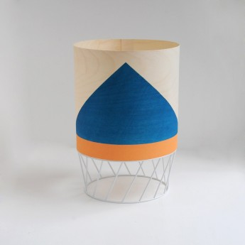 Lampe DOWOOD S bleue