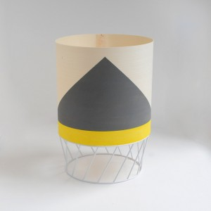 Lampe DOWOOD S grise