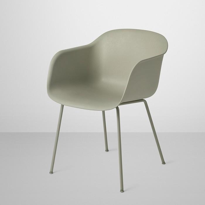 chaise fiber pi tement m tal et coque en mat riau composite pour le salon et salle manger muuto. Black Bedroom Furniture Sets. Home Design Ideas