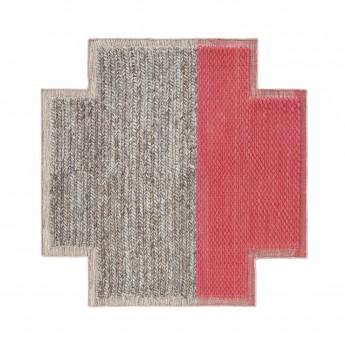 Tapis carré PLAIT Mangas