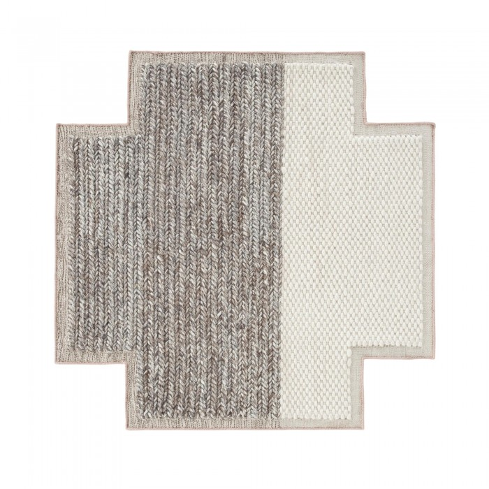 tapis carr rhombus mangas en laine gan rugs. Black Bedroom Furniture Sets. Home Design Ideas