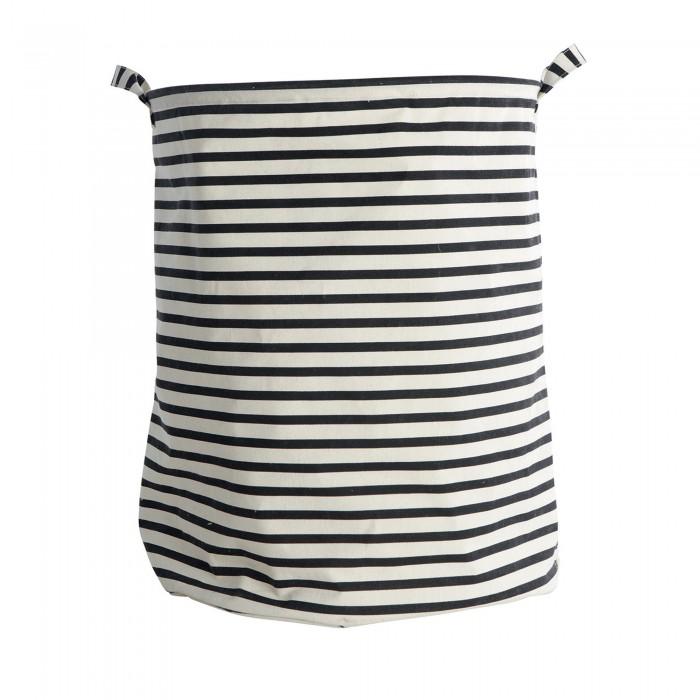 panier 224 linge stripes en coton et polyester house doctor