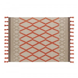 Tapis SIOUX corail