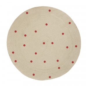 Tapis rond DOTS