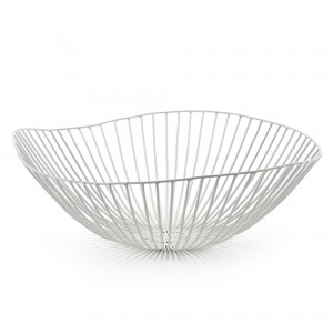 CESIRA fruit basket white