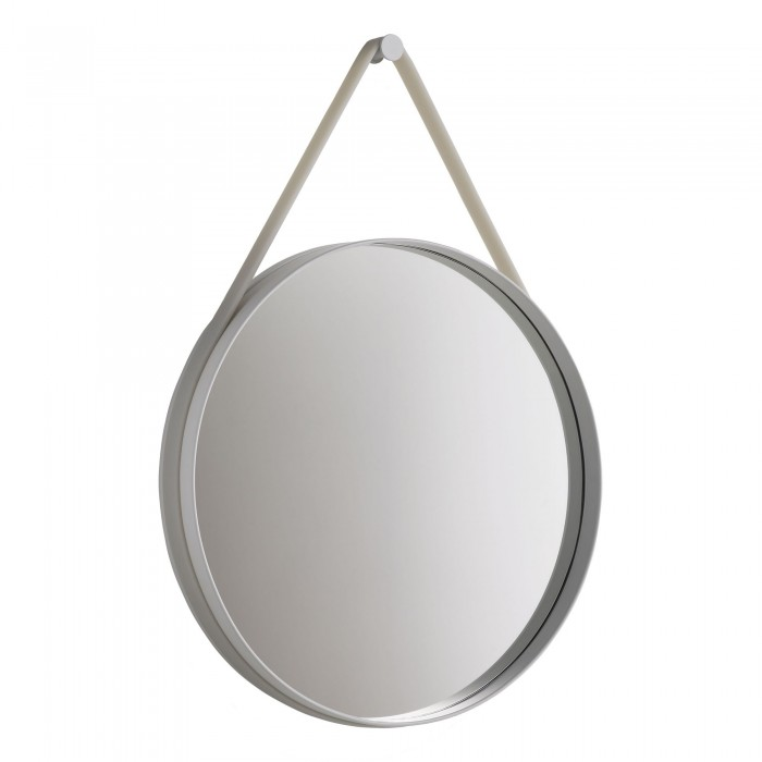 strap mirror hanging mirror with a silicone colored stripe. Black Bedroom Furniture Sets. Home Design Ideas