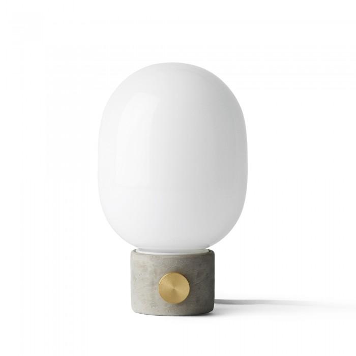 CONCRETE Lamp In Concrete Brass And Glass MENU