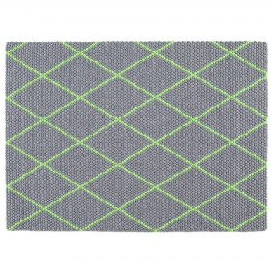 DOT Carpet Electric green