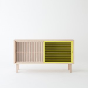 KYOTO sideboard yellow