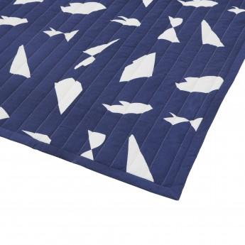 Couverture CUT BED bleue