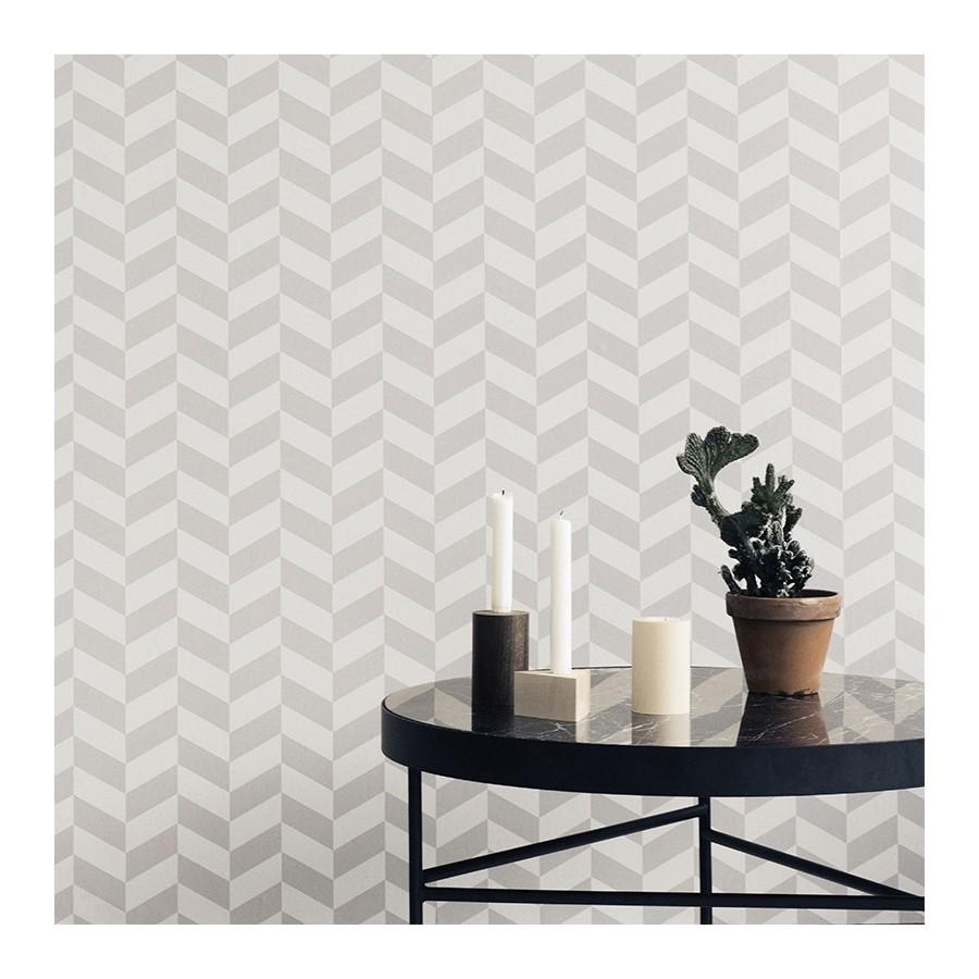 Papier peint angle gris ferm living for Papier peint angle sortant