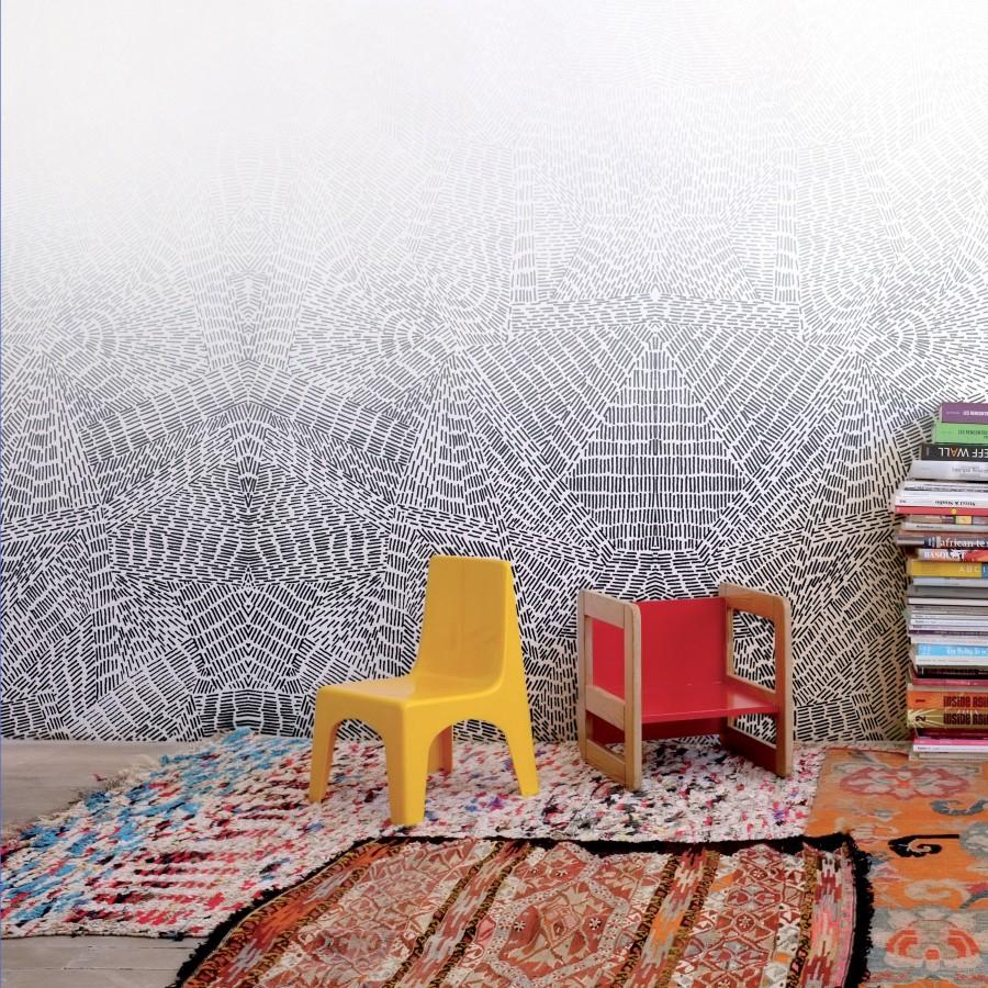 copenhague wallpaper bien fait. Black Bedroom Furniture Sets. Home Design Ideas
