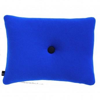 Coussin DOT Bleu électrique