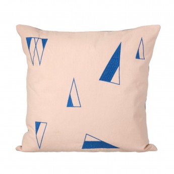 Coussin CONE rose