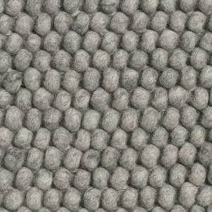 Tapis PEAS gris mélangé moyen