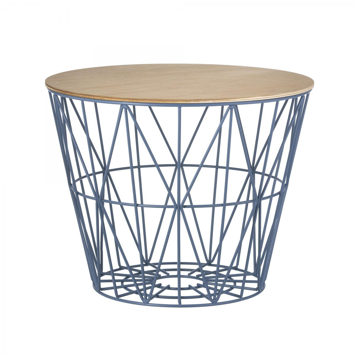 Table basse wire s en fil de m tal color ferm living for Table basse panier