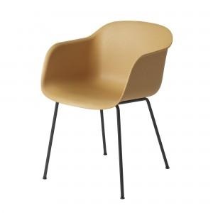 FIBER Arm chair tube base