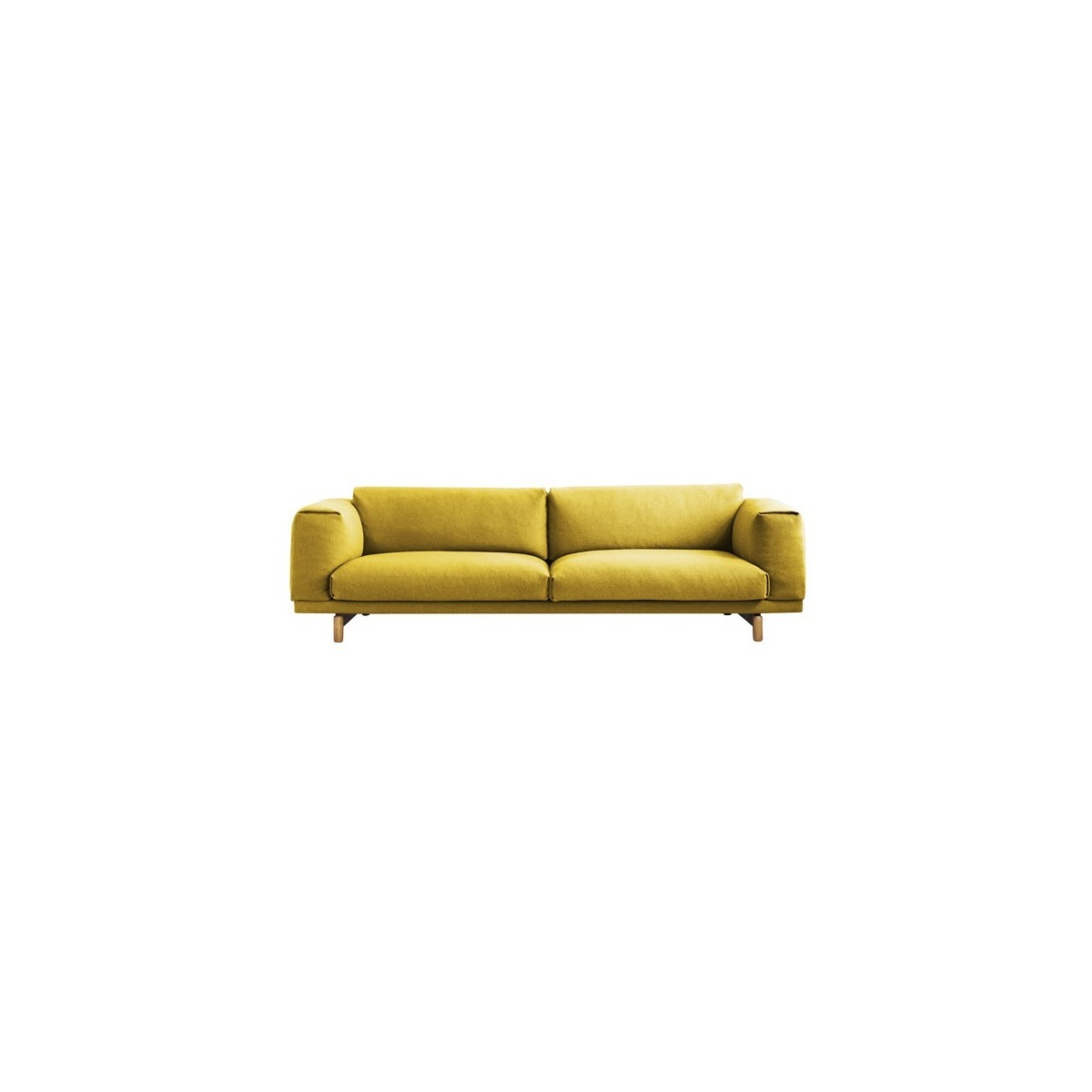 canap rest 3 places grand et confortable muuto. Black Bedroom Furniture Sets. Home Design Ideas