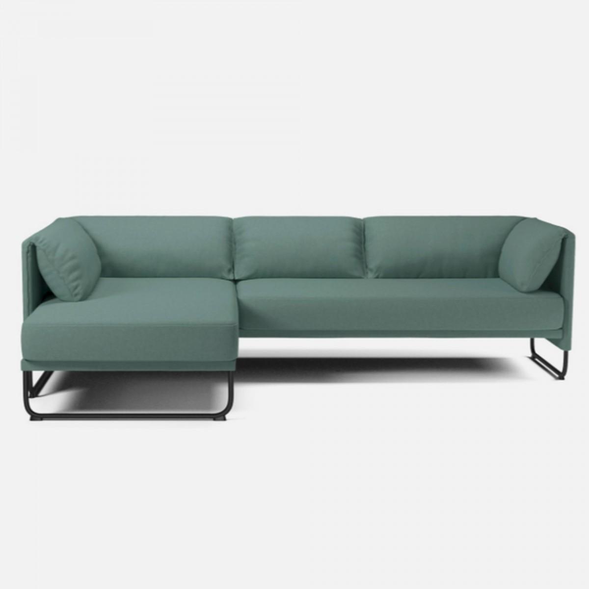 Mara sofa 3 seats with chaise longue bolia for 2 chaise longues three seat sofa
