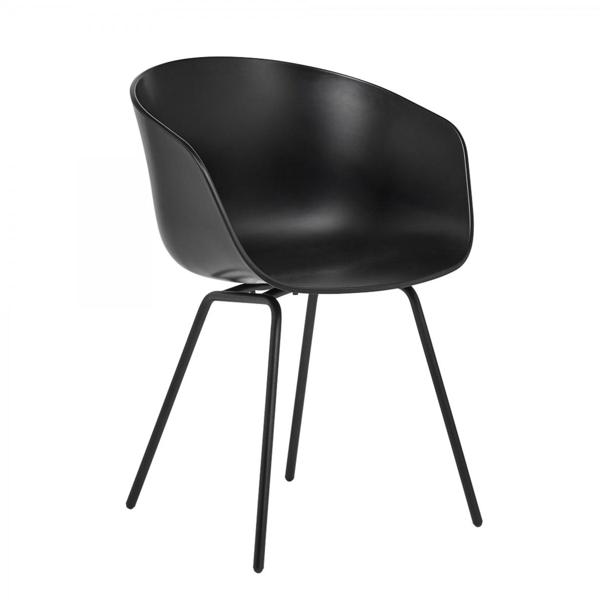 aac 26 black chair hay. Black Bedroom Furniture Sets. Home Design Ideas