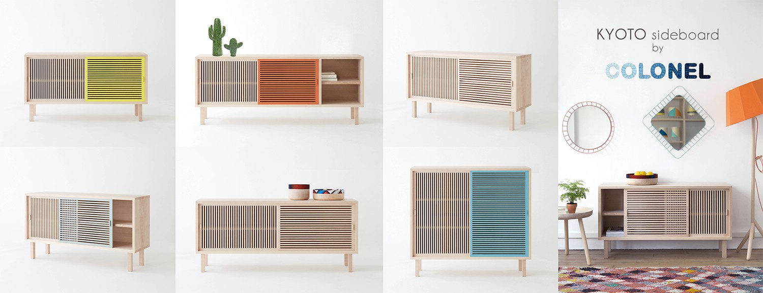 Kyoto sideboard by COLONEL