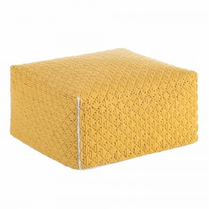 SILAÏ M Yellow pouf