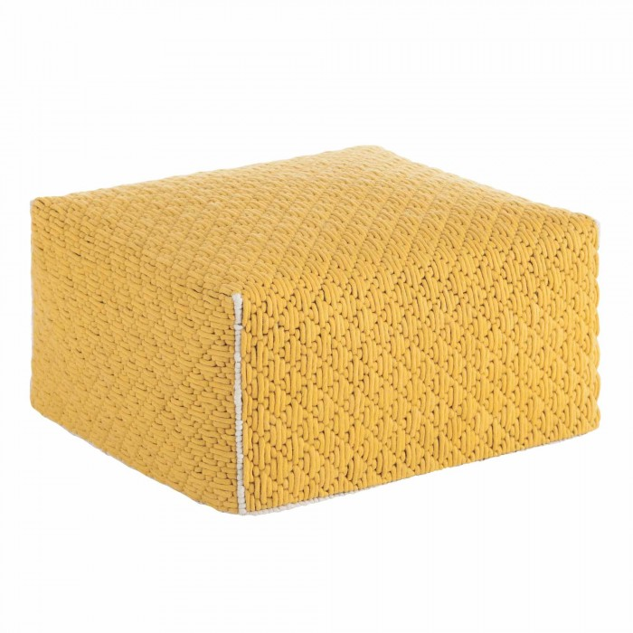 SILAÏ Big Yellow pouf